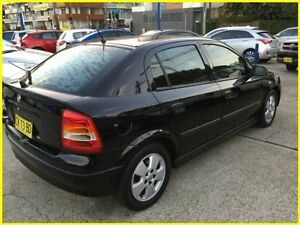 2004 Holden Astra TS MY04.5 CD Classic Black 4 Speed Automatic Sedan Kogarah Rockdale Area Preview