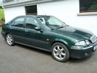 BARGAIN *** 2003 ROVER 45 1.6 , FULL MOT , LEATHER INTERIOR , LOW MILES