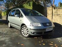 VOLKSWAGEN SHARAN 1.9 SPORT TDI 5d 109 BHP TOW BAR+P/SENSOR+CD+1 OWN (grey) 2004