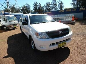 2007 Toyota Hilux GGN15R 07 Upgrade SR White 5 Speed Automatic Extracab Homebush West Strathfield Area Preview