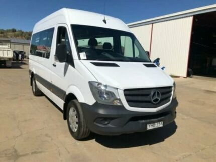 2017 Mercedes-Benz Sprinter NCV3 313CDI HIGH ROOF LWB 7G-TRONIC White Steptronic Bus Kooringal Wagga Wagga City Preview