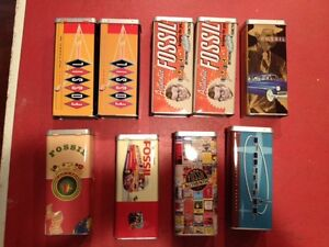 fossil collecter tins
