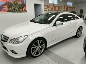 2012 Mercedes-Benz E250 CDI C207 MY12 BlueEFFICIENCY Avantgarde White Sports Automatic Coupe