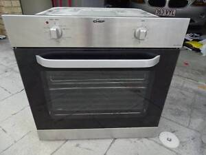 Chef stainless 60cm wall oven Highland Park Gold Coast City Preview