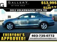 2011 Volkswagen Jetta TDI $129 bi-weekly APPLY NOW DRIVE NOW