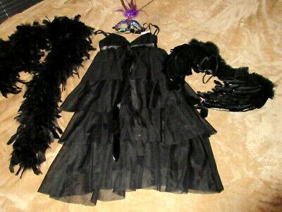 sexy Kleid Kostüm Charleston~Gatsby~Mafia~20er Gr S M - Mafia Kostüm Party