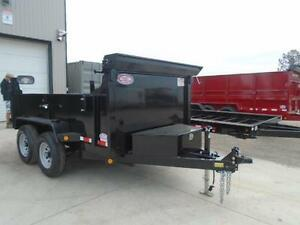 COMBO GATE HYDRAULIC DUMP TRAILER 6X10 5 TON -GET YOURS TODAY London Ontario image 4
