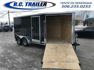 2020 SNOWMOBILE 7X18 = 7X12 + 6.5FT V-NOSE WITH RAMP 60 INCHES