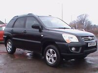 KIA SPORTAGE SX CRDI 2.0 DIESEL BLACK 5 DR 1 YRS MOT CLICK ONTO VIDEO LINK TO SEE MORE DETAILS