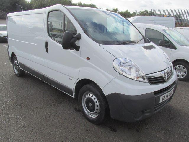 Vauxhall Vivaro LWB 2.0Cdti [115Ps] Van 2.9T Euro 5 DIESEL MANUAL WHITE (2014)