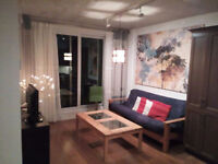 Heart of DT Montreal Furnished 3 1/2 for Short/Long term rental