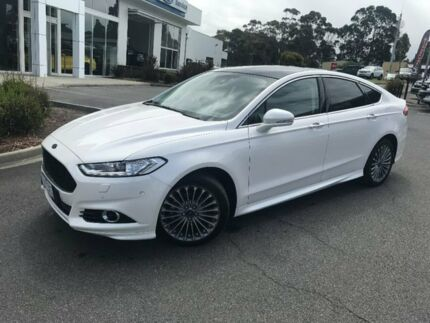 2016 Ford Mondeo White Sports Automatic Dual Clutch Hatchback