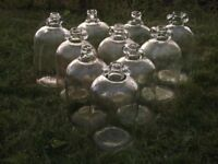 Glass Demijohns, Swing Top Bottles, Carboys