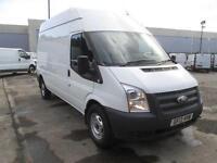 Ford Transit High Roof Van Tdci 125Ps DIESEL MANUAL WHITE (2013)
