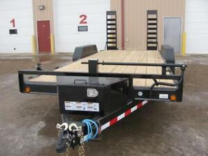 2019 Load Trail 20 ft Skid Steer Trailer