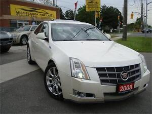 2008 Cadillac CTS AWD,PANORAMIC ROOF,ACCIDENT FREE