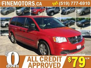 2012 DODGE GRAND CARAVAN SE * 7 PASSENGER * FINANCING AVAILABLE