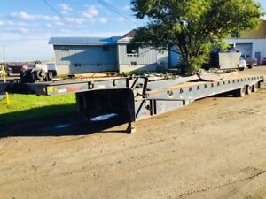 2001 Fontaine Specialized Tri Axle Land All Float