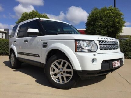 2011 Land Rover Discovery 4 Series 4 TDV6 White 6 Speed Automatic Wagon Garbutt Townsville City Preview