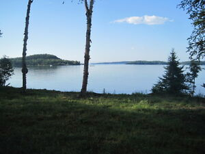 Lake Superior Pine Bay Lot Camp for Sale (Memory Road)