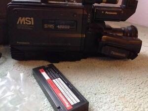 SUPER VHS VIDEO CAMERA + ACCESSORIES & CASE & VIDEO /DVD PLAYER Earlwood Canterbury Area Preview