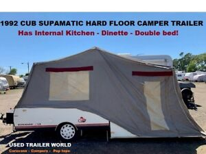 1992 Cub Supamatic Hard Floor Camper Trailer. Has Internal Kitchen - Dinette - Double bed! Heathcote Sutherland Area Preview
