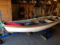 SLIPPER sailing dinghy, ready to use.