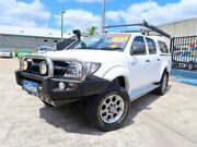 2007 Toyota Hilux GGN25R MY08 SR White 5 Speed Automatic Utility Woodridge Logan Area Preview