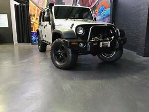2009 Jeep Wrangler JK MY2009 Unlimited Sport Silver 4 Speed Automatic Softtop Northbridge Perth City Area Preview