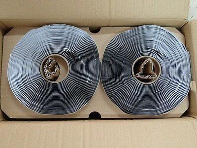 50ft Butyl Tacky Tape High - Temp Vacuum Bag Sealant Tape Seal Black 170c