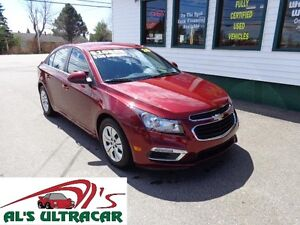 2015 Chevrolet Cruze 1LT only $135 bi-weekly all in! (8300kms!)