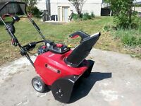 "Sears Craftsman 22"" Single Stage snowblower"