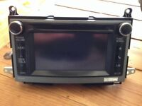 2012/2013 Toyota Venza Stock radio unit