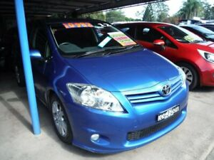2012 Toyota Corolla ZRE152R MY11 Ascent Sport Blue 4 Speed Automatic Hatchback East Lismore Lismore Area Preview