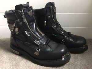 Mens Harley Davidson riding boots size 10.5  Barely worn  $125