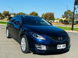 2008 Mazda 6 GH1051 Classic Blue 5 Speed Sports Automatic Hatchback Mawson Lakes Salisbury Area Preview