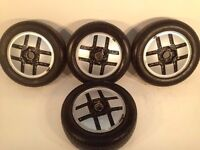 """GM 14"""" 4x100 5.5J Classic alloy wheels, original made in Germany, not borbet. tm"""