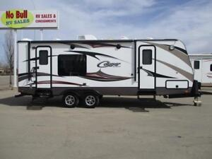 REDUCED **$121 b/w (oac)** LUXURY WINTER COUPLE'S TRAILER, SLIDE