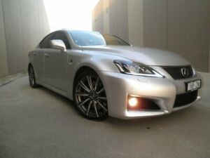 2009 Lexus IS USE20R IS F Sports Luxury Sparkle Grey Pearlescent 8 Speed Sports Automatic Sedan Cheltenham Kingston Area Preview