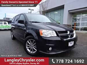 2014 Dodge Grand Caravan SE/SXT ACCIDENT FREE w/ STOW N GO SE...