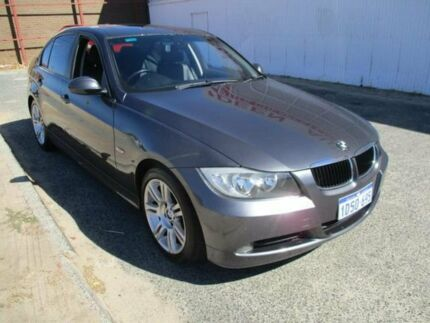 2006 BMW 320i E90 Executive Grey 6 Speed Manual Sedan