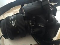 NIKON D5100 DSLR with 3 lenses, Strap, Battery & Charger