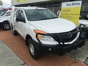 2013 Mazda BT-50 MY13 XT (4x4) White 6 Speed Manual Extracab Loganholme Logan Area Preview