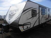 2015 Gulf Stream Matrix 8 ft. Wide Light Weight 825BH