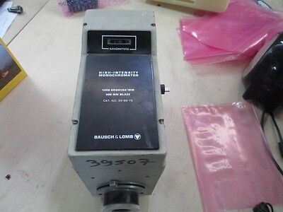 Bausch Lomb High Intensity Monochromator 1350 Groovesmm 300nm Blaze 33-86-79