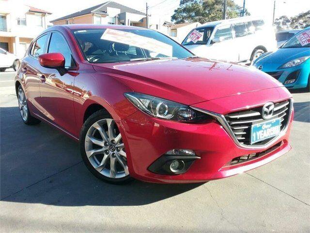 2014 Mazda 3 BM SP25 Red 6 Speed Automatic Hatchback