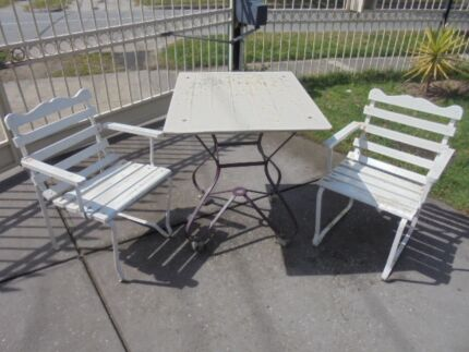 Vintage Outdoor Setting   1950u0027s , Retro Cool , Be Quick