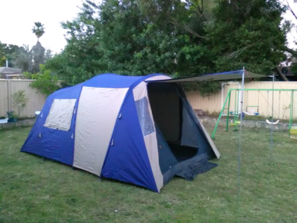 Jackaroo Two Room 8 Person Dome Tent- Excellent Condition & 4 PERSON DOME TENT | Camping u0026 Hiking | Gumtree Australia Gold ...