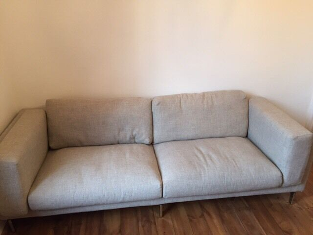 Beautiful 2 X IKEA Nockeby Sofas For Sale