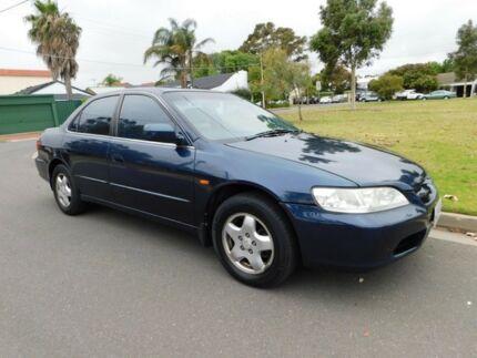 1998 Honda Accord V6 Blue 4 Speed Automatic Sedan